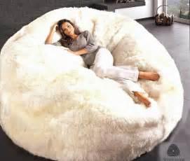 Sheepskin Rugs Ikea by Giant Sheepskin Bean Bag Chair Cover Designer Colors 6
