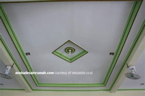 gambar desain plafon gypsum gipsum rumah minimalis