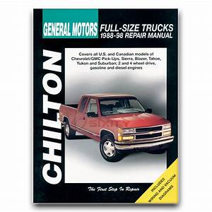 Chilton Repair Manual For Chevy K1500 Silverado Base