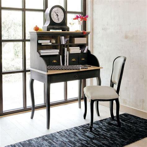 bureau secrétaire en bois chenonceau et chaise versailles