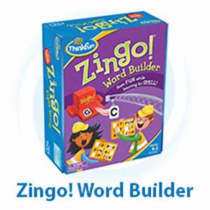 zingor word builder thinkfun With zingo letters