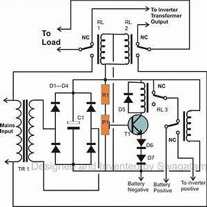 how to make a simplest 200 va uninterrupted power supply With wiring diagrams for lcd meter volts ohms amps battery charge indicator