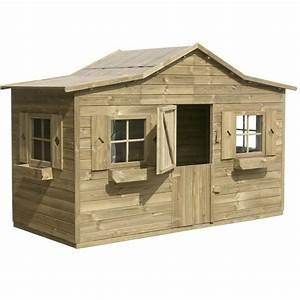 Maison Pour Enfant En Bois : maisonnette en bois discount ~ Premium-room.com Idées de Décoration