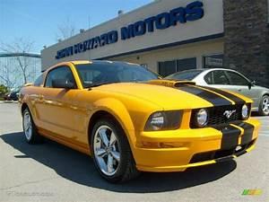 2007 Grabber Orange Ford Mustang GT Premium Coupe #27920351 | GTCarLot.com - Car Color Galleries