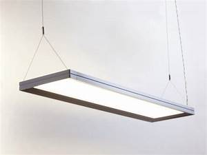 Replace Fluorescent Light Fixture  Suspended Ceiling Light