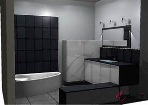 salle de bain faience grise maison design bahbecom With sol gris clair quelle couleur pour les murs 11 quelle couleur salle de bain choisir 52 astuces en photos