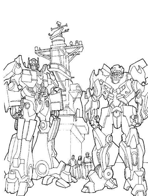 transformers coloring pages learn  coloring