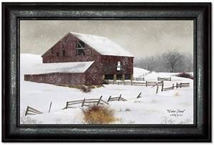 Winter Storm Primitive Art By Billy Jacobs Country