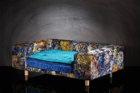 canapes de luxe canapé de luxe pour chien le couture palace bleu