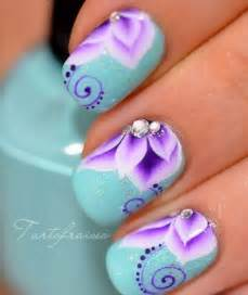 Nail designs why not put flowers on nails professional makeup