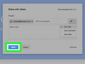 how to share a google drive file 13 steps with pictures With sharing a file in google drive