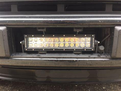 2015 f150 light bar 2015 f 150 lightbar in bumper ford f150 forum