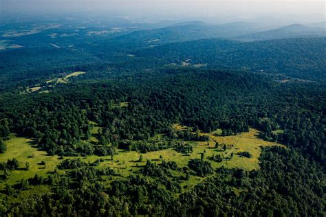From The Air Virginias Piedmont Transitions From