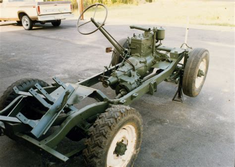 restored rolling chassis