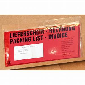 Was Ist Ein Lieferschein : dokumententasche textaufdruck lieferschein rechnung packing list invoice bei suk ~ Themetempest.com Abrechnung