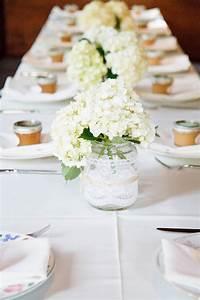 Mason, Jar, Wedding, Centerpiece