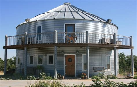 Converted Homes Grain Bins & Silos  Home Design, Garden