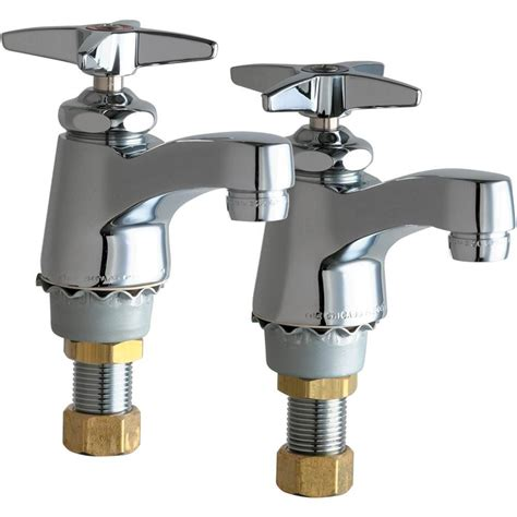 Faucet Shoppe by Chicago Faucets 700 Prabcp Single Supply Cold