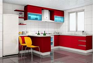 red and white kitchen design ideas home design ideas With kitchen design red and white