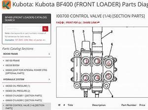 Kubota Hydraulic Cylinder Diagram