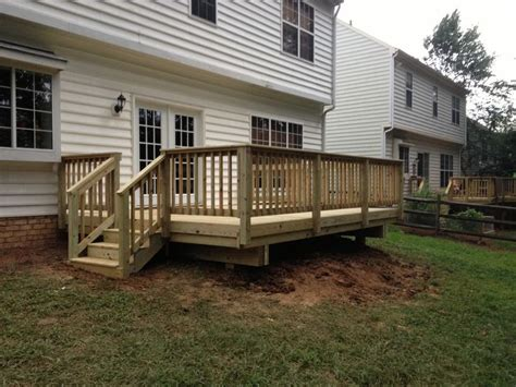 deck   spring project woo hoo great yard