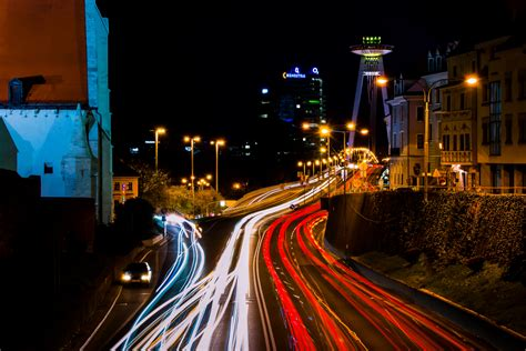 Time Lapse Photography Of Road And Vehicls · Free Stock Photo