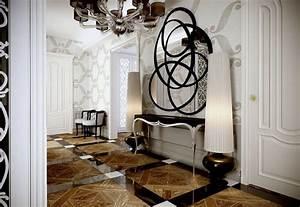Art deco style interior design ideas for Art deco zone design interior