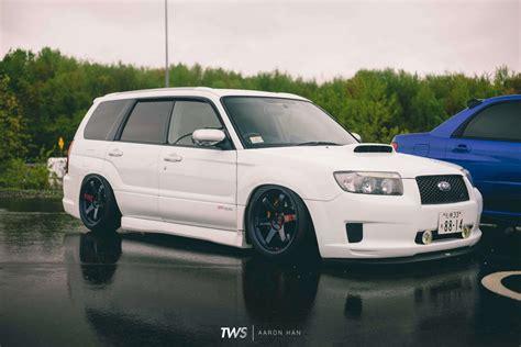 Slammed Subaru Forester Tuner Evolution Thirdworld The