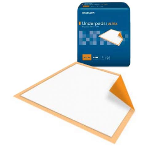 mckesson underpads ultra disposable underpad