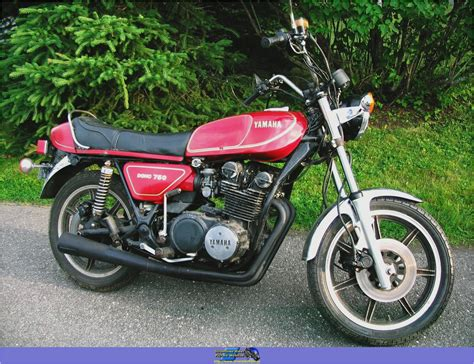 '78 Yamaha Xs 750 Vintage Motorcycles