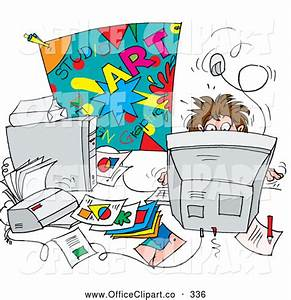 Cluttered Desk Clipart - Clipart Suggest