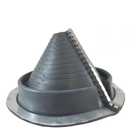 Rubber Boot Metal Roof by Pipe Boots