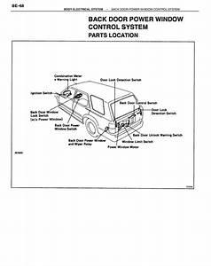 1992 Toyota Camry Power Window Motor