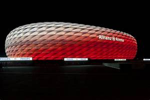 Electrical Light Fixtures Connected Philips Led Lighting For The Allianz Arena Fc