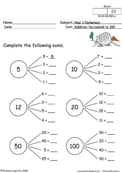 worksheet year  maths schematic  wiring diagram
