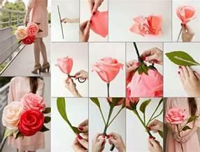 comment créer une fleur en papier crépon archzine fr