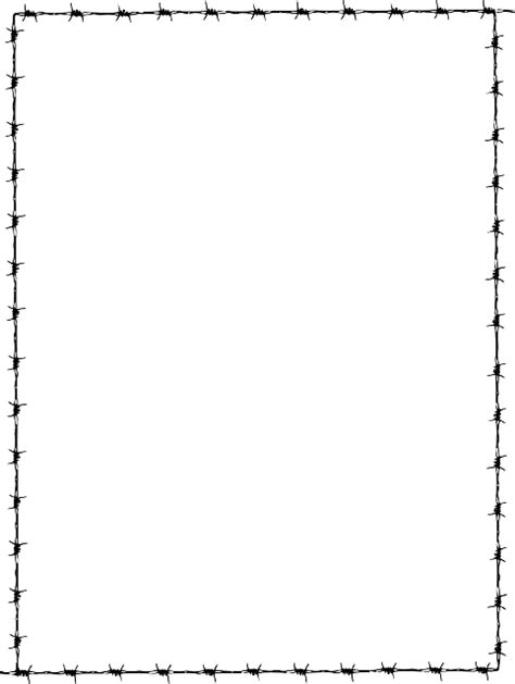 frame border page barbed  vector graphic  pixabay