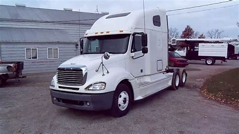 freightliner trucks for sale 2004 freightliner columbia semi truck for sale youtube