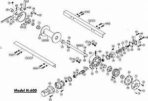 Ramsey Winch Hydraulic H X  Y 600