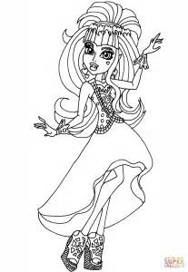free high coloring pages draculaura 13 wishes coloring page free printable
