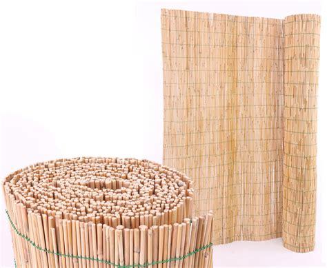 Sichtschutz Garten Schilfrohrmatte by Schilfrohrmatte Mit 140x600cm Als Garten Sichtschutz Kaufen