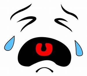 Crying Face Clip Art - dothuytinh