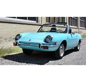 Short And Sporty 1971 Fiat 850 Sport Spider
