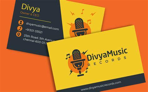Business Cards Design For Gym Choice Image  Card Design
