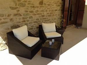 Salon De Jardin Resine Tressee Ronde. salon de jardin en r sine ...