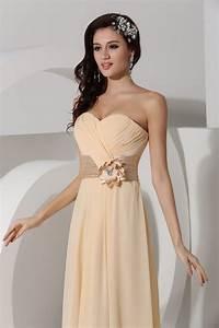 Robe Rose Pale Demoiselle D Honneur : robe bustier taille empire longue pour demoiselle d 39 honneur jmrouge ~ Preciouscoupons.com Idées de Décoration