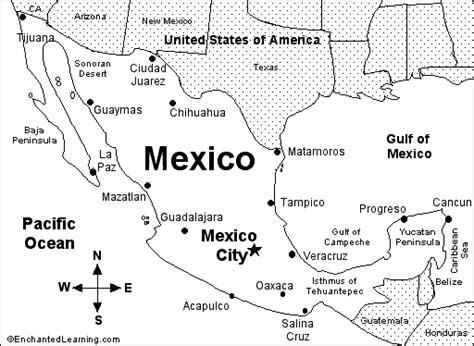 mexico mapquiz printout zoomschoolcom