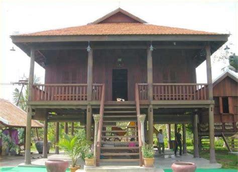 les maisons traditionnelles au cambodge