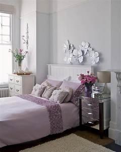 decoration chambre adulte romantique 28 idees inspirantes With chambre bébé design avec fleurs correspondance