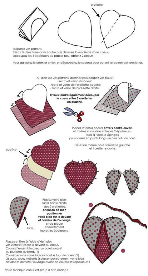 maniques cuisine en dessin confectionnez des maniques coeur pour votre
